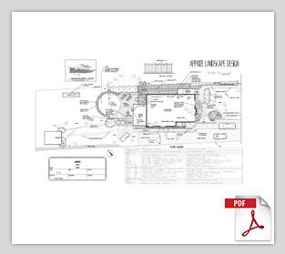 apprize landscape design, joghson plan