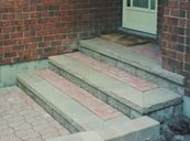 Steps re-lay after