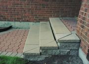 Steps re-lay